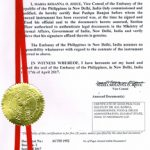 Agreement Attestation for Philippines in Bhayander, Agreement Legalization for Philippines , Birth Certificate Attestation for Philippines in Bhayander, Birth Certificate legalization for Philippines in Bhayander, Board of Resolution Attestation for Philippines in Bhayander, certificate Attestation agent for Philippines in Bhayander, Certificate of Origin Attestation for Philippines in Bhayander, Certificate of Origin Legalization for Philippines in Bhayander, Commercial Document Attestation for Philippines in Bhayander, Commercial Document Legalization for Philippines in Bhayander, Degree certificate Attestation for Philippines in Bhayander, Degree Certificate legalization for Philippines in Bhayander, Birth certificate Attestation for Philippines , Diploma Certificate Attestation for Philippines in Bhayander, Engineering Certificate Attestation for Philippines , Experience Certificate Attestation for Philippines in Bhayander, Export documents Attestation for Philippines in Bhayander, Export documents Legalization for Philippines in Bhayander, Free Sale Certificate Attestation for Philippines in Bhayander, GMP Certificate Attestation for Philippines in Bhayander, HSC Certificate Attestation for Philippines in Bhayander, Invoice Attestation for Philippines in Bhayander, Invoice Legalization for Philippines in Bhayander, marriage certificate Attestation for Philippines , Marriage Certificate Attestation for Philippines in Bhayander, Bhayander issued Marriage Certificate legalization for Philippines , Medical Certificate Attestation for Philippines , NOC Affidavit Attestation for Philippines in Bhayander, Packing List Attestation for Philippines in Bhayander, Packing List Legalization for Philippines in Bhayander, PCC Attestation for Philippines in Bhayander, POA Attestation for Philippines in Bhayander, Police Clearance Certificate Attestation for Philippines in Bhayander, Power of Attorney Attestation for Philippines in Bhayander, Registration Certificate Attestatio